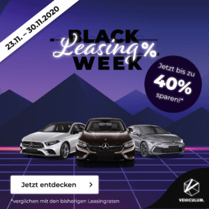Vehiculum Black Leasing Week 💥 z.B. Mercedes A250e / A35 AMG // Mercedes GLC 300e