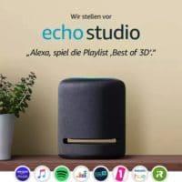 AMAZON EchoStudio Smarter HighFidelity-Lautsprecher mit 3D-Audio Smart Speaker
