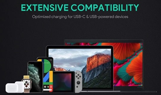 AUKEY Omnia USB C Ladegerät 65W Power Delivery 3.0