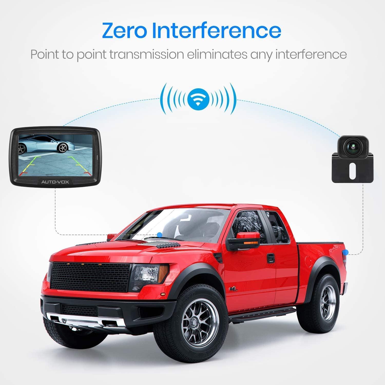 Stabile Signalübertragung ohne Interferenz】Geeignet für die meisten Autos inklusiv Kfz, Minivan, SUV, Campingbus, Pickup. Die digitale Punkt-zu-Punkt Echtzeit-Übertragung wird nicht durch andere Signale wie Bluetooth, WiFi usw. gestört. CS2 wird Ihnen klare, stabile und glatte Rückansicht in realer Farbe liefern.