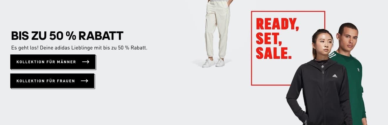Adidas Outlet mit bis zu 50 Prozent