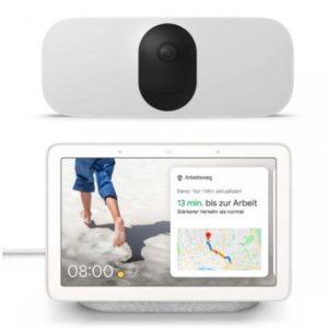 Arlo Pro 3 Floodlight Cam WIRELESS mit Google Nest Hub