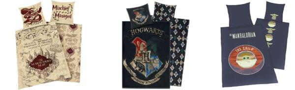 Karte des Rumtreibers Bettwäsche Hogwarts Bettwäsche The Mandalorian - The Child (Baby Yoda) Bettwäsche