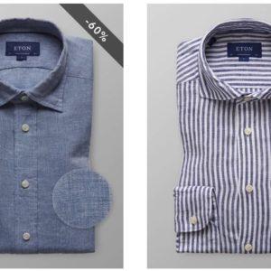 Etonshirts: 40 – 60% Rabatt auf Hemden 👔 heute: Casual-Donnerstag