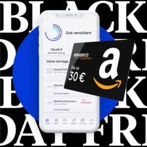 Bis zu 30€ BestChoice-/Amazon.de Gutschein + 50€ Gutschrift für jede Empfehlung mit der CLARK Versicherungs-App