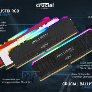 Crucial Ballistix Gaming Speicher Kit