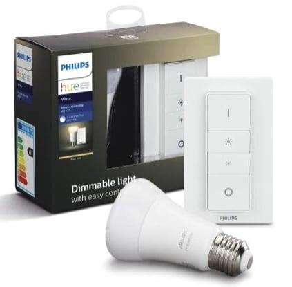 Philips HUE WHITE LEUCHTMITTEL+DIMMER E27 9,5 W