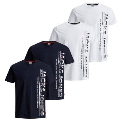 Jack & Jones Herren Kurzarm Rundhals T-Shirt