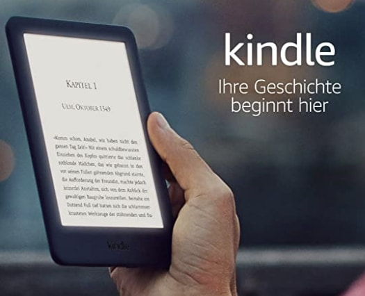 Amazon Kindle mit Licht