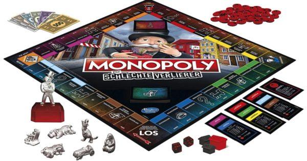 Monopoly für schlechte Verlierer Brettspiel