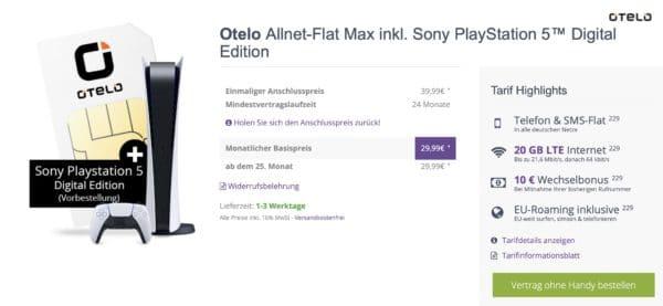 Otelo Flymobile PlayStation 5 Digital