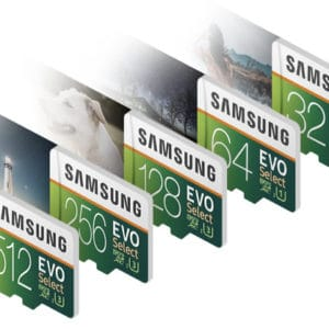 Samsung EVO Select microsds