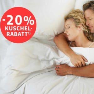 Schlafwelt 20 Prozent Gutschein für alles