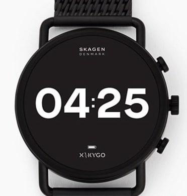 Smartwatch HR Falster 3 X by KYGO Edelstahl SKU SKT5207