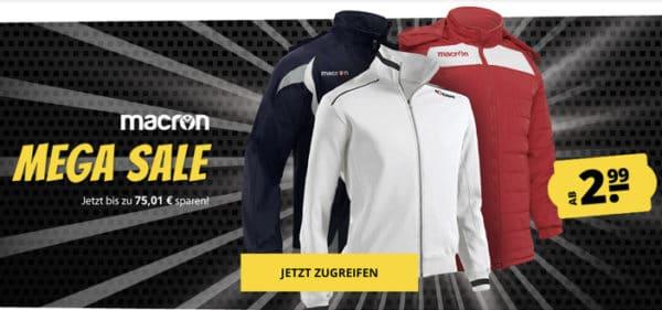 Macron Mega-Sale