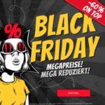 SportSpar: Black Sale 🖤 z.B. Tops ab 3€, Hummel Sneaker ab 8€, Nike Sonnenbrillen ab 13€ & mehr