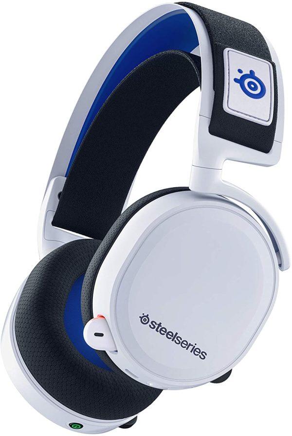 Mit diesem Over-Ear-Headset erhalten Sie sowohl kabellosen Sound als auch lange Akkulaufzeit und Komfort. Das Headset ist mit PS5 kompatibel, passt aber auch für PS4, PC, Android und Nintendo Switch und ist somit ein äußerst vielseitiges Headset. Mit der bequemen Bedienung des Headsets und einem komfortablen und leichten Design, das Sie fast nicht bemerken, können Sie ganz einfach in Ihr Spiel eintauchen.