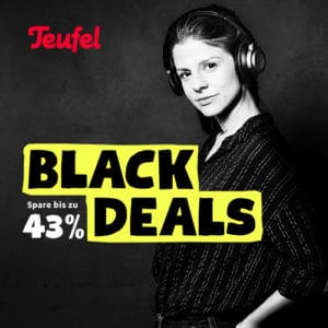 [Endet heute] 🖤🎵 Teufel Black Deals, z.B. Consono, Boomster, Real Pure, Cubycon & mehr