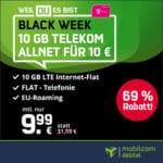 Nur bis 13 Uhr 🕐❗ Black Week Knaller 🔥 Telekom 10GB LTE Allnet-Flat für 9,99€ mtl.