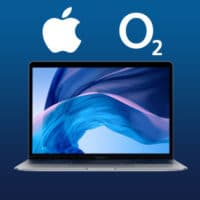 o2 free unlimited max apple macbookair 13 bonus deal sq