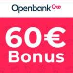 Nur 2.000x: 60€Bonus für kostenloses Girokonto von Openbank 🏃♀️💵