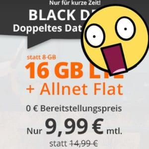 [Schnell!] 😲💥Flexible o2 16GB LTE Allnet für 9,99€ - Bestpreis ever!