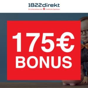 Weihnachtsupdate: Jetzt 175€ Bonus für 1822direkt Depot 🎉📈 für mind. 2 Orders ab je 4,95€