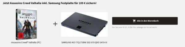 Bundle SATA SSD mit hoher Speicherkapazität für Alltagsanwendungen am PC oder Laptop