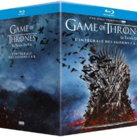 France released, Blu-Ray/Region A/B/C : it WILL NOT play on regular DVD player. You need Blu-Ray DVD player to view this Blu-Ray DVD: LANGUAGES: English ( DTS 5.1 ), English ( DTS-HD Master Audio ), French ( Dolby Digital 2.0 ), French ( Dolby Digital 5.1 ), Spanish ( Dolby Digital 2.0 ), Spanish ( Dolby Digital 5.1 ), Danish ( Subtitles ), Dutch ( Subtitles ), English ( Subtitles ), Finnish ( Subtitles ), French ( Subtitles ), Norwegian ( Subtitles ), Portuguese ( Subtitles ), Spanish ( Subtitles ), Swedish ( Subtitles ), WIDESCREEN (1.78:1), SPECIAL FEATURES: Alternative Footage, Behind the scenes, Box Set, Cast/Crew Interview(s), Commentary, Deleted Scenes, Documentary, Featurette, Interactive Menu, Making Of, Multi-DVD Set, Scene Access, SYNOPSIS: In the mythical, medieval land of Westeros, a civil war brews between the several noble families over rulership. Meanwhile, across the sea, the daughter of the kingdom's former controlling dynasty attempts to make her way back home and reclaim the throne with the help of her three dragons. While the conflict of political power ensues in the civilized world, an ancient, forgotten army of an undead race located far north of any inhabited territory begin traveling south for a chilling invasion, known fearfully by the living as 'winter'. SCREENED/AWARDED AT: BAFTA Awards, Golden Globes, ...Game of Thrones - Complete Seasons 1-8 - 33-Disc Box Set ( Game of Thrones - Seasons One to Five )