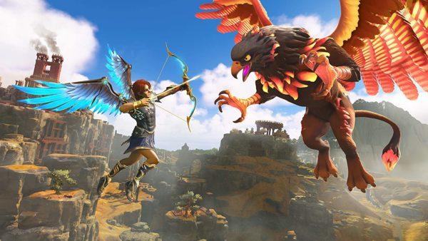 Treffen Sie im Kampf auf mythische Gegner wie Zyklopen, Medusen, dem Minotaurus, sowie korrumpierten Helden wie Achilles in schnellen Boden- und Luftkämpfen entgegen