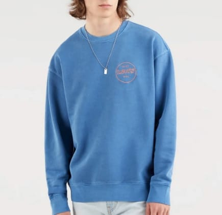 Levi´s Sweatshirt in Blau