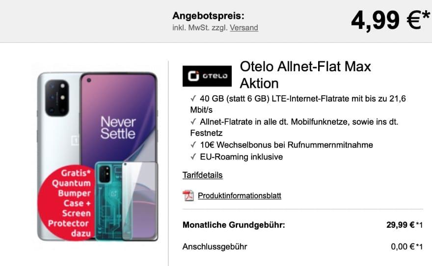 Logitel OnePlus 8T