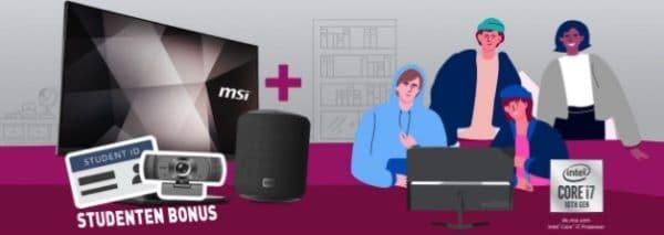 MSI PRO MP241DE IPS Monitor mit Bluetooth-Speaker