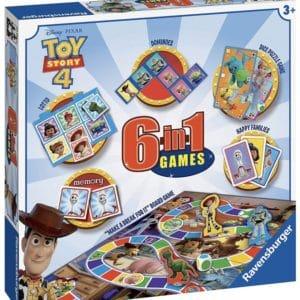 Ravensburger Disney Toy Story 4   6 in 1 Classic Games Compendium Set fuer Kinder ab 3 Jahren Spiele Bingo Erinnerung Domino 2021 04 13