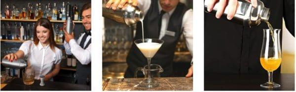 Supersun 14 Stück Cocktail Shaker, Cocktail Set Edelstahl Weihnachten Geschenk für Männer, 550ml Cocktailshaker Set Cocktail Bar Set Bar...