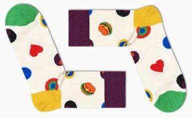 Symbol Dot 1/2 Crew Sock bei Happy Socks