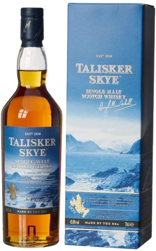 Talisker Skye Single Malt Scotch Whisky   in maritimer Geschenkbox 0.7l