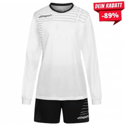 Uhlsport Match Damen Fußball Set Langarm Trikot mit Shorts 100316908
