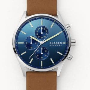Uhr Chronograph Holst Leder braun SKW6732   Skagen 2021 02 08