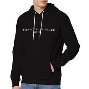 ommy Hilfiger Herren Tommy Logo Hoody Sweatshirt