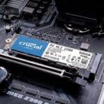 Crucial P2 SSD mit 1TB (intern, M.2 NVMe/PCIe) Bis zu 2.400 MB/s 🏎