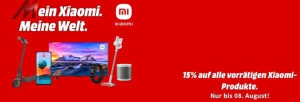 15 Abzug auf Xiaomi bei MediaMarkt 2