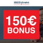 [TOP] 150€ Bonus für Sparplan mit dem 1822direkt Depot (keine Schufa) 💵📈