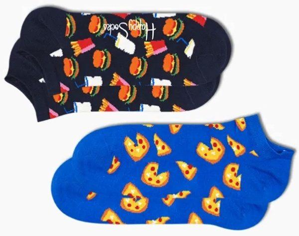 2-Pack Junk Food Low Sock von Happy Socks