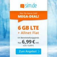 20210126 simde NL Mega Deal 6GB 6 99 Winter 500px