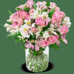 "33 Rosen ""Sweet Surprise"" mit 120 Blüten"