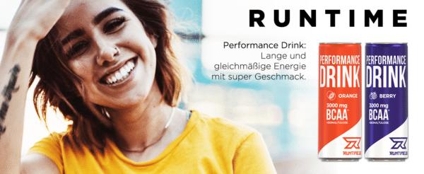 Runtime BCAA Energy Drink