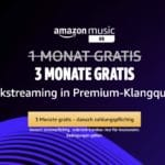 [Endspurt] 3 Monate gratis: 70 Mio. Songs in HD streamen 🎶👉 Amazon Music HD