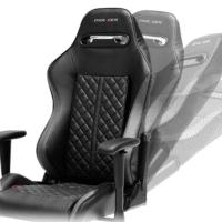 DXRacer Gaming Stuhl, OH/DH73/N-N, D-Serie, schwarz