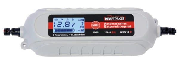 Dino KRAFTPAKET 4A 6V12V Batterieladegeraet fuer KfzMotorrad